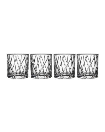 City Double Old-Fashioneds, Set of 4