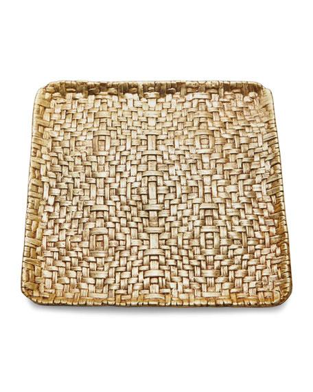Square Palm Plate