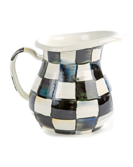 Courtly Check Creamer/Small Pitcher