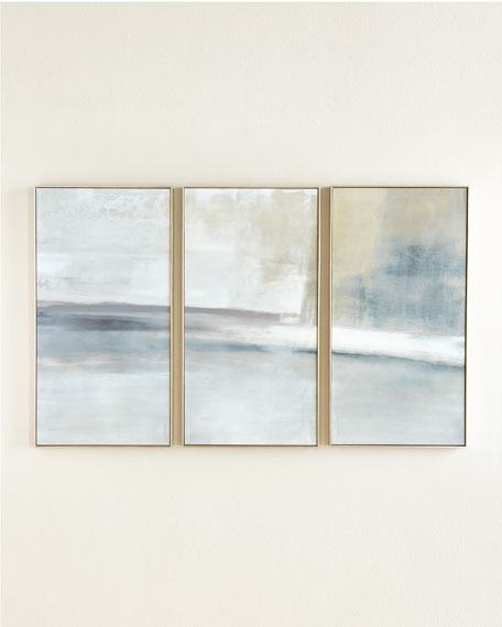"""""""The Revine"""" Triptych Giclee, Artist Signed"""