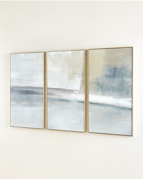 """The Revine"" Triptych Giclee on Canvas Wall Art"