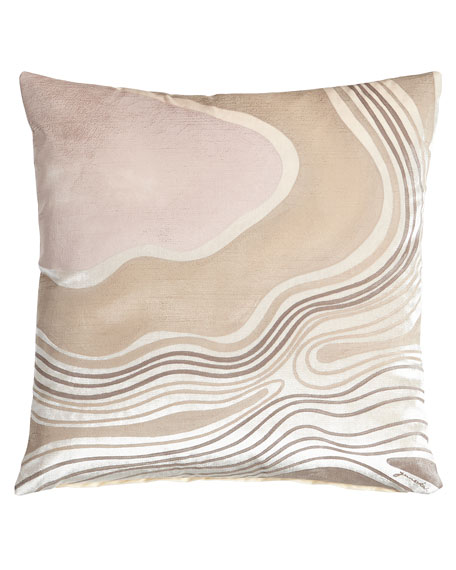 Venice Snow Wave Pillow