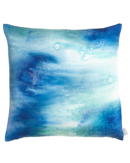 "Stardust Pillow, 20""Sq."