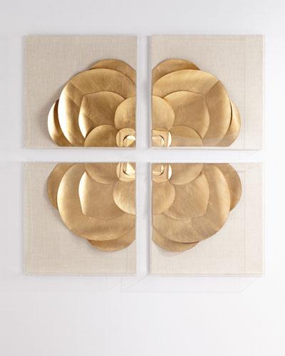 Four-Piece Medallion Installation