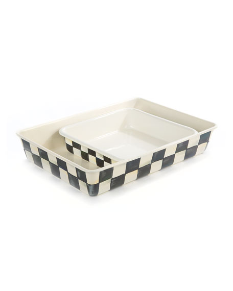 MacKenzie-Childs Courtly Check Baking Pan, 8