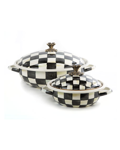 Courtly Check Casserbole, Small