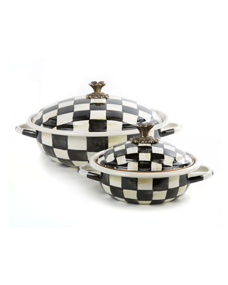 MacKenzie-Childs Courtly Check Casserbole, Large