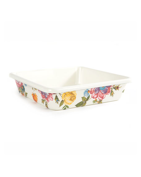 "Flower Market Baking Pan, 8"" Square"