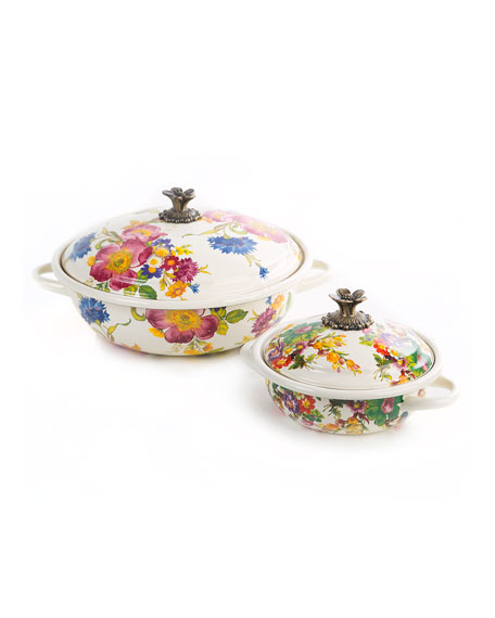 MacKenzie-Childs Flower Market Casserbole, Small