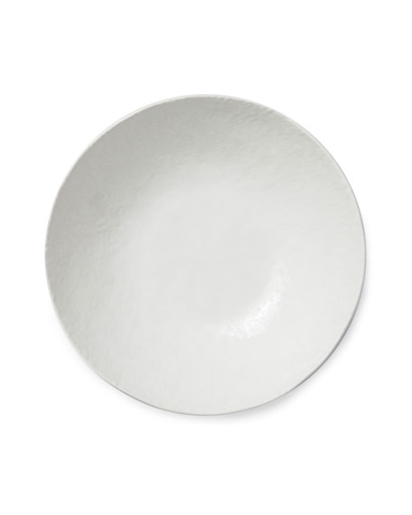 Lace White Medium Serving Bowl
