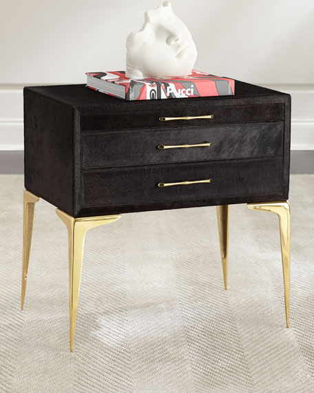 Kensington Hairhide Side Table