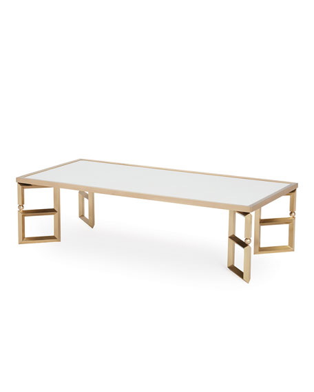 Coralee Beveled Leg Coffee Table