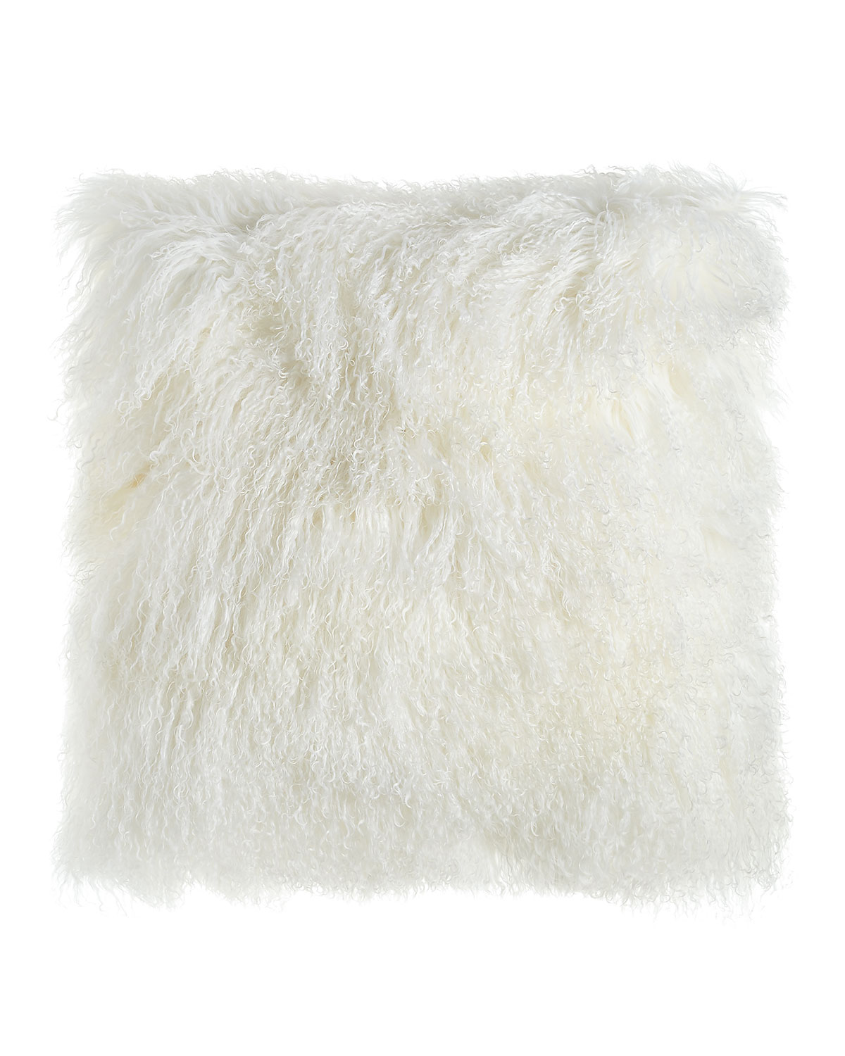 Massoud White Tibetan Lamb Pillow 26 Quot Sq