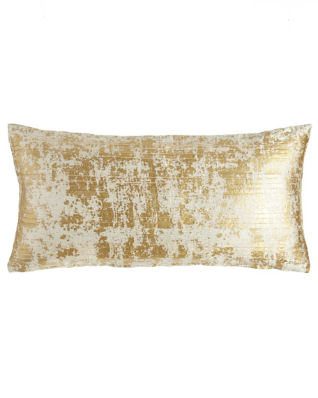 "Opal Essence Pleat-Front Pillow, 11"" x 22"""
