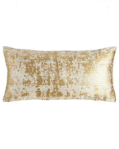 "Opal Essence Pleat-Front Pillow, 11"" x 22"""