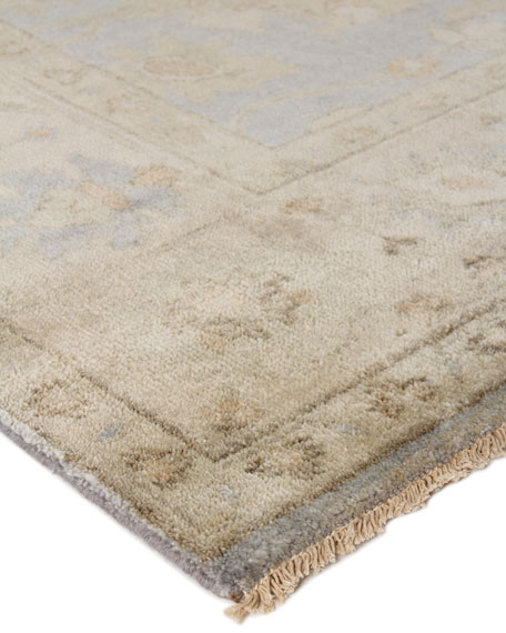 Exquisite Rugs Annetta Antique Oushak Rug, 12' x