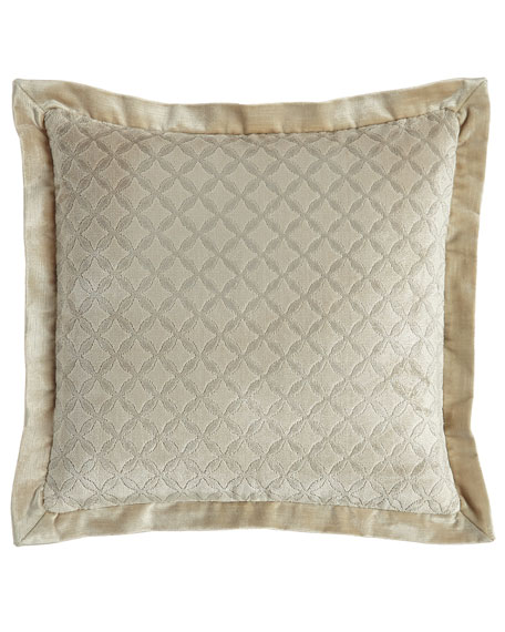 "Chateau Pillow, 18""Sq."