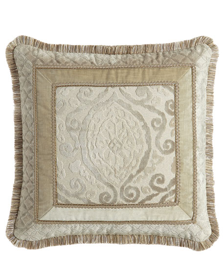 "Chateau Pillow, 22""Sq."