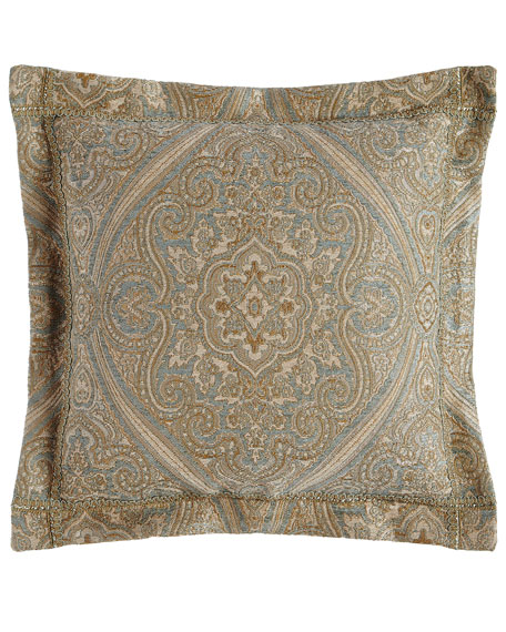 "Formality Pillow, 18""Sq."