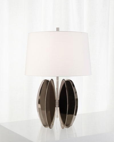 Flat Oval Discs Table Lamp