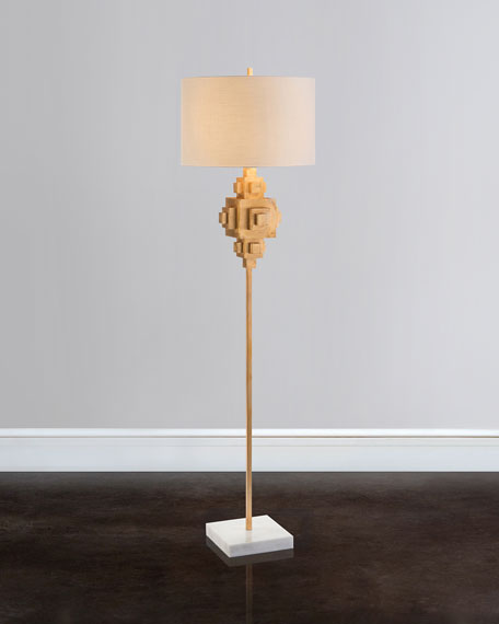 Constructiveness Illuminated Floor Lamp