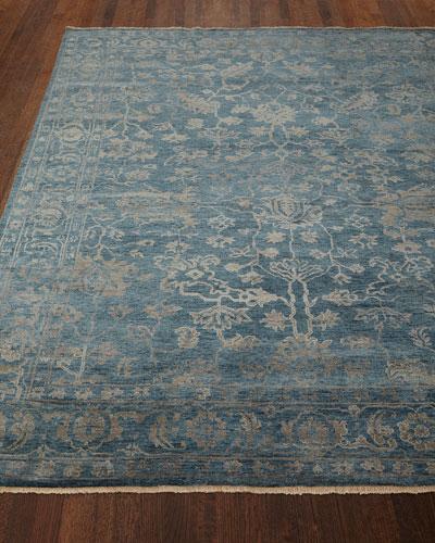 Cece Magnolia Wool Rug  6' x 9'