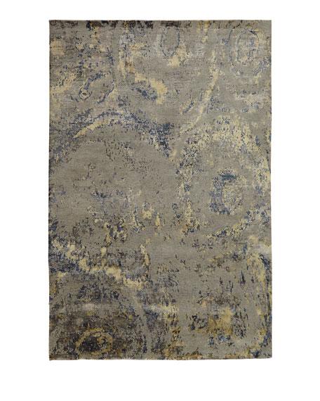 Perla Marble Rug, 6' x 9'