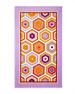 Honeycomb Beach Towel, Lavender