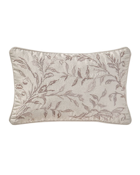 "Sophia Breakfast Pillow, 12"" x 18"""