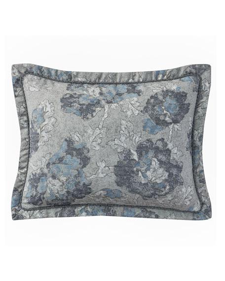 King Blossom Pewter 4-Piece Comforter Set