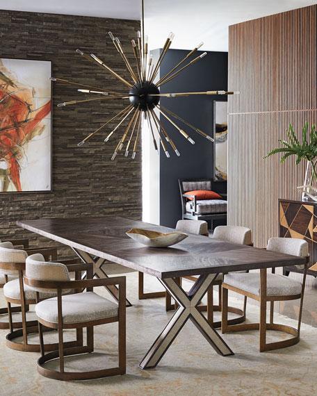 Seryln X-Leg Dining Table