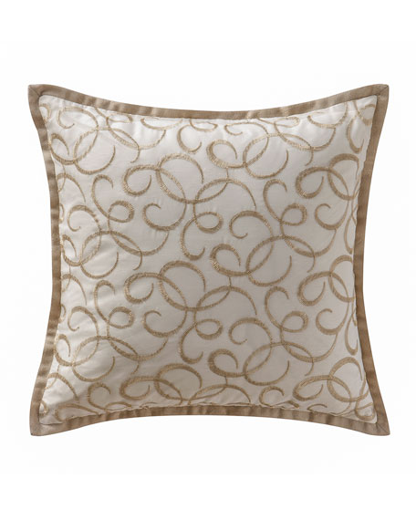 Chantelle Embroidered Pillow, 16