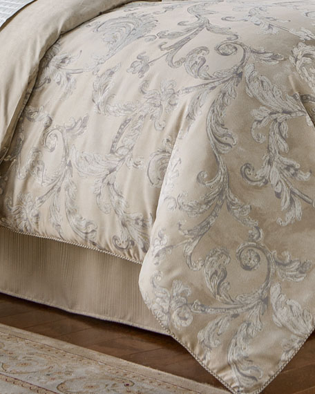 Queen Chantelle 4-Piece Comforter Set