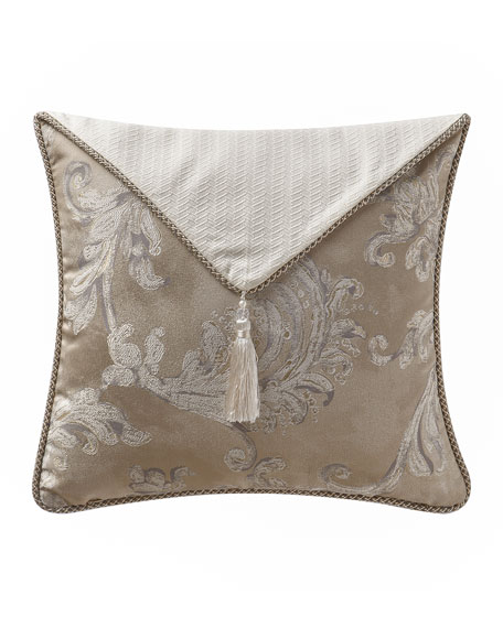 "Chantelle Envelope Pillow, 18""Sq."