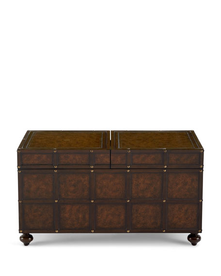 Martin Trunk Style Coffee Table
