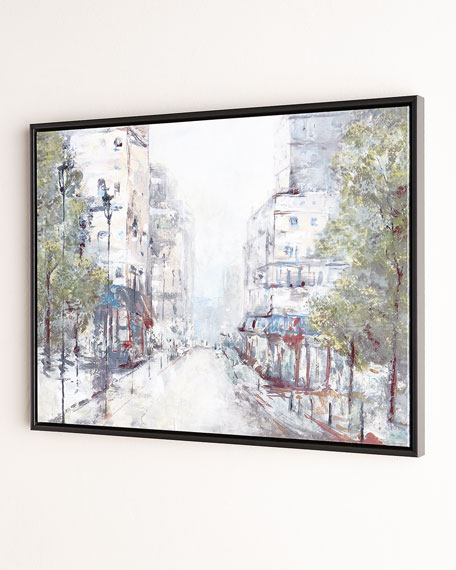 """""""About Town"""" Giclee on Canvas Wall Art"""