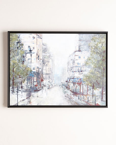 """""""About Town"""" Giclee"""