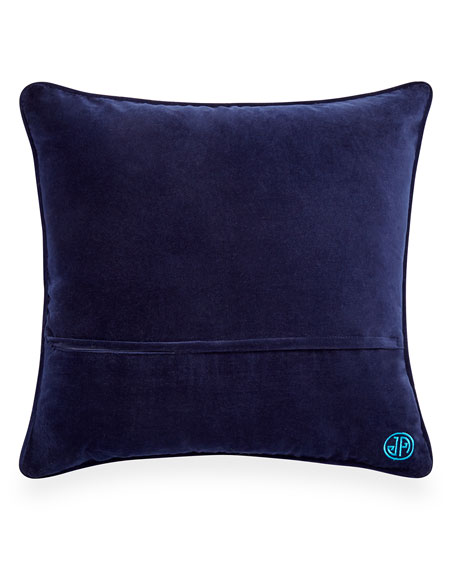 Worth Avenue Bargello Pillow