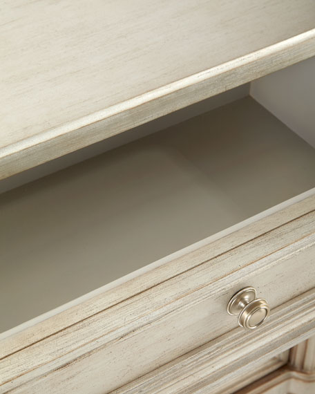 Blissany Three-Drawer Nightstand