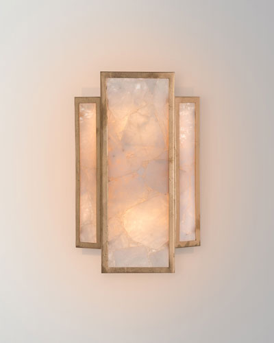 Calcite 2-Light Wall Sconce