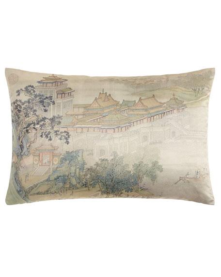 """Along the Riverbank Pillow, 14"""" x 24"""""""