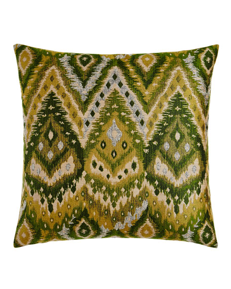 "Zahara Grass Pillow, 24""Sq."