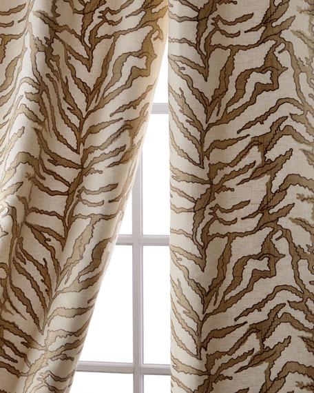 "Sherwood Linen/Cotton Curtain, 96"""