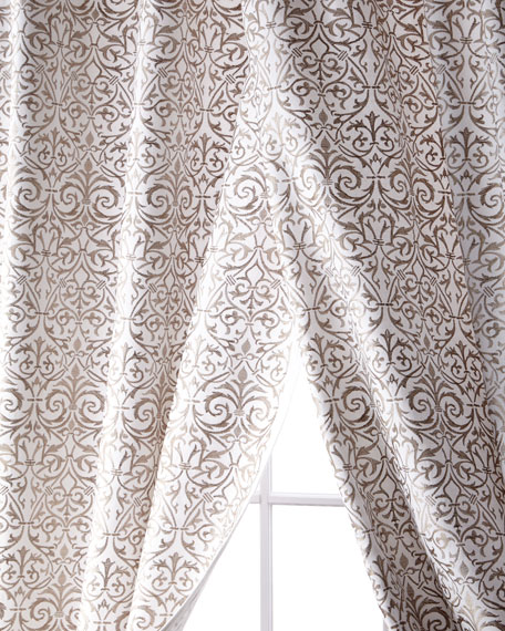 Kashaya Linen/Cotton Curtain, 108""