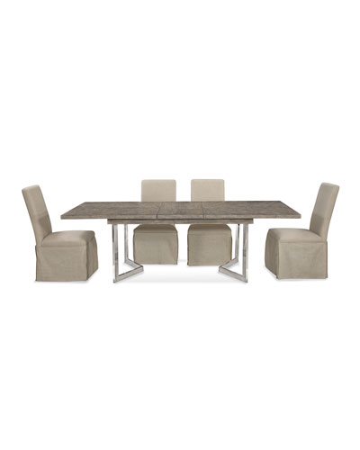 Bayless Nickel Base Dining Table
