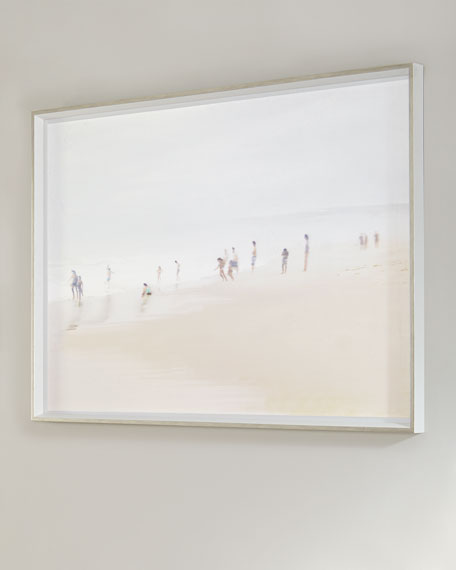 """Beach Scene"" Giclee on Paper Wall Art"