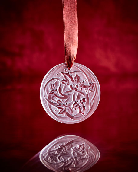 2017 Entrelacs Annual Ornament, Clear