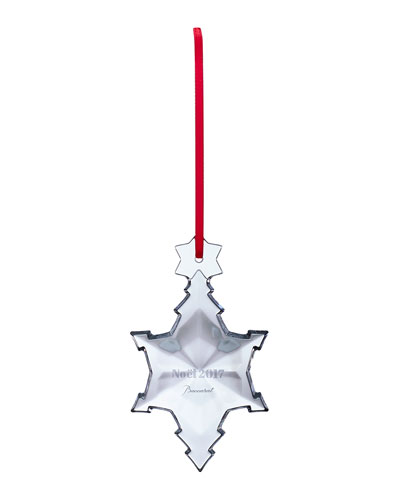 2017 Annual Noel Crystal Ornament, Clear