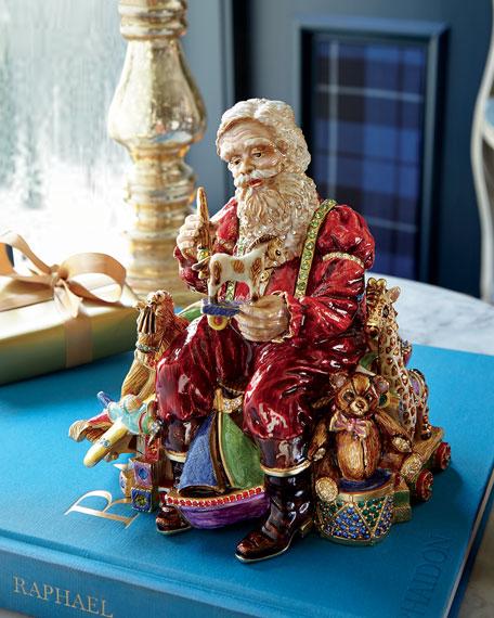 Santa's Musical Workshop Figurine