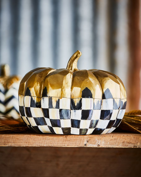 Medium Golden Frost Pumpkin